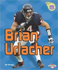 info for e1fee 68292 Brian Urlacher (Amazing Athletes)